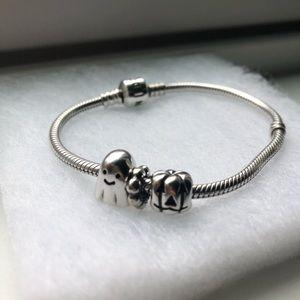 Pandora Seasonal Bracelet With Charms